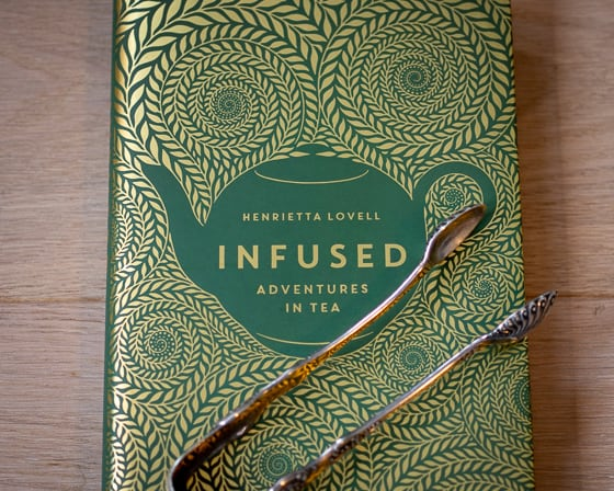 Infused book cover